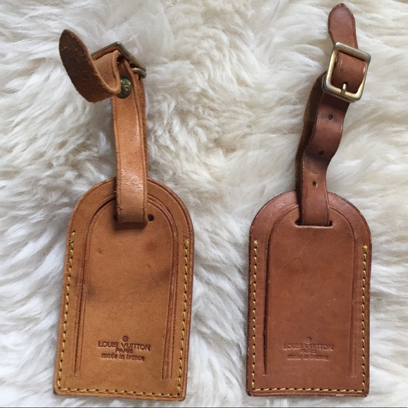 51aba2001348 Louis Vuitton Handbags - ONE Authentic vintage Louis Vuitton luggage tag